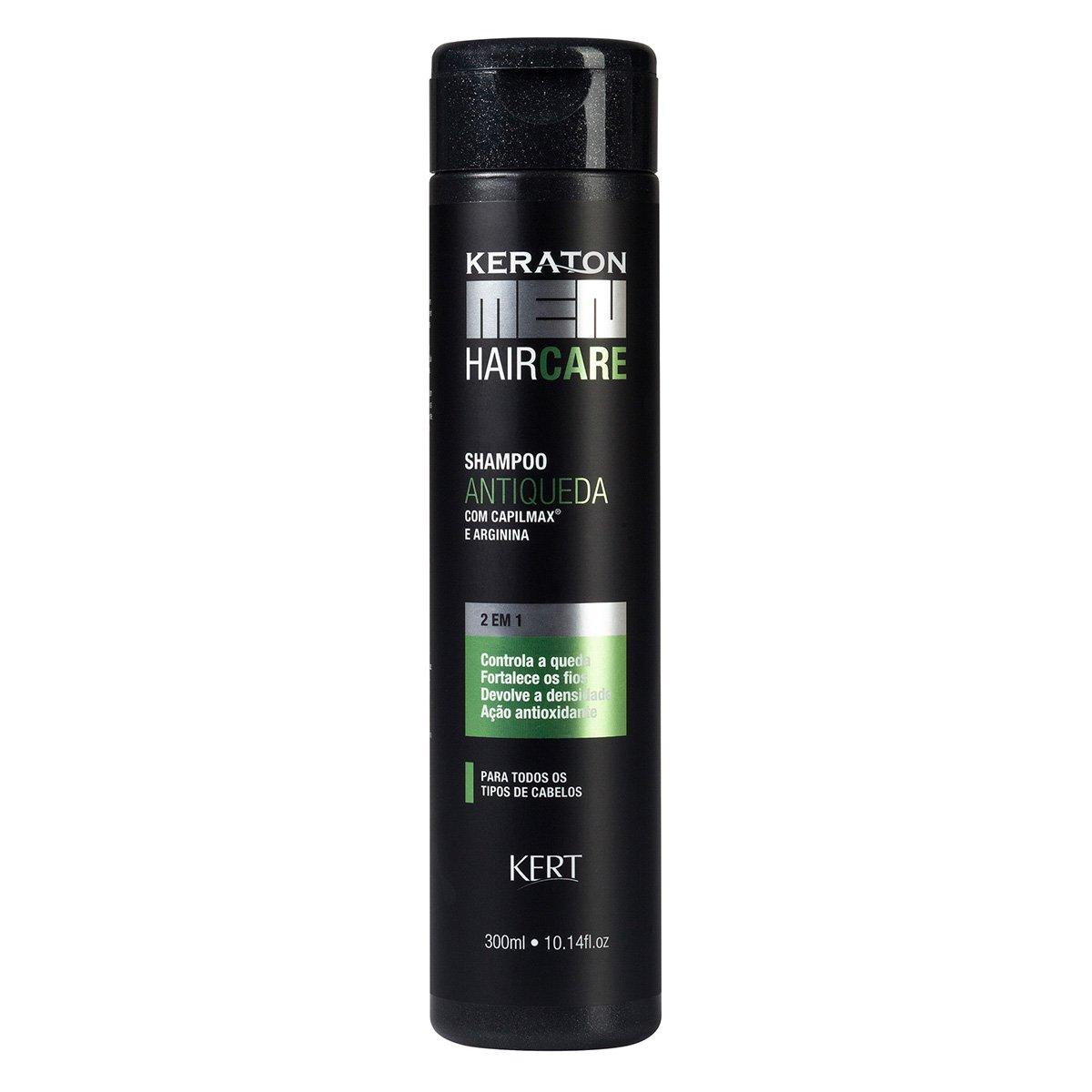 Shampoo Keraton Men Antiqueda - Capilmax e Arginina 300ml