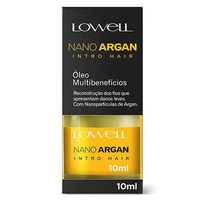 Lowell Óleo Nano Argan 10ml