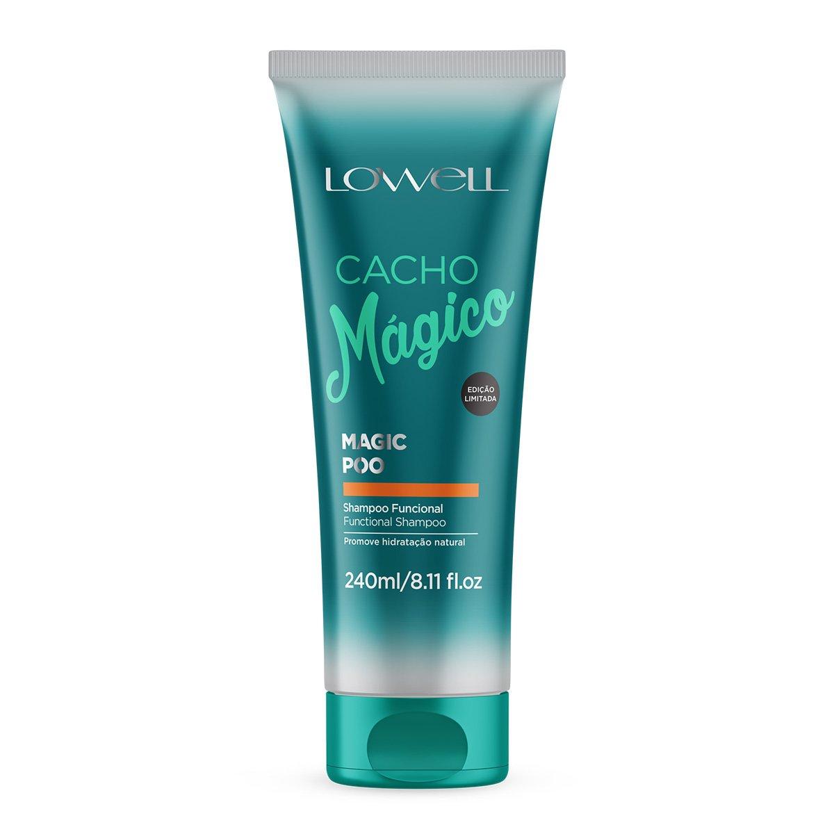 Shampoo Lowell Funcional Magic Poo 240ml