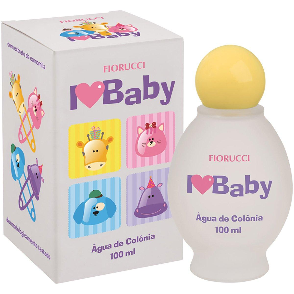 Água de Colônia Fiorucci Love Baby 100ml