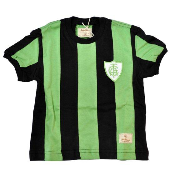 6e56b37a8a Camisa Retrô Mania Juvenil América MG 1971 - Verde - Compre Agora ...