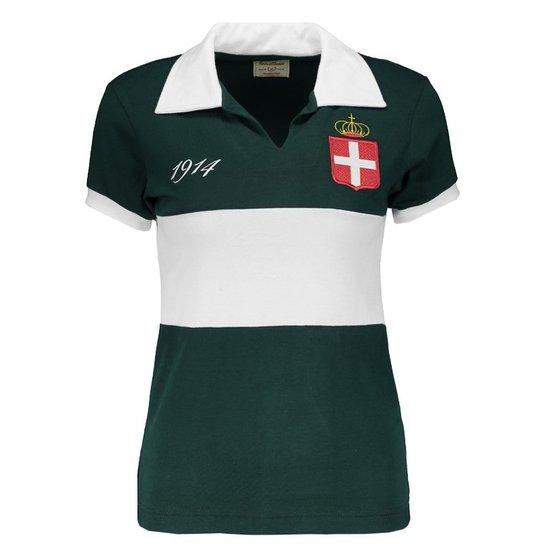 Camisa Retrômania Palmeiras 1914 Feminina - Compre Agora  7acad9a75a36c