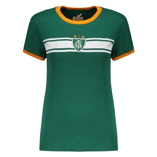 Camisa Retrômania América Mineiro Feminina - Compre Agora  cc1c475be39b9