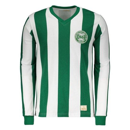 Camisa Coritiba Retrô 1985 Manga Longa Masculina - Verde - Compre ... 906c7b3ab49e5