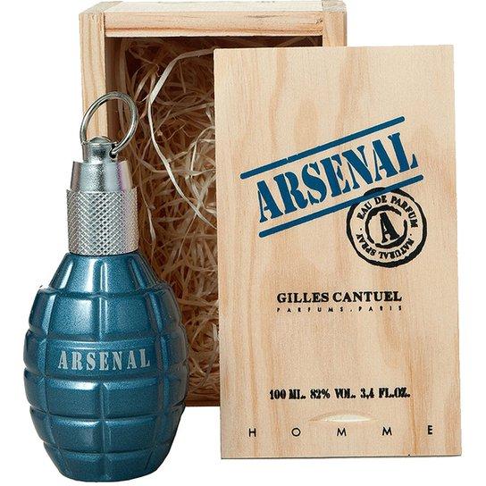 f7d7583bae Perfume Blue Masculino Arsenal EDP 100ml - Incolor - Compre Agora ...