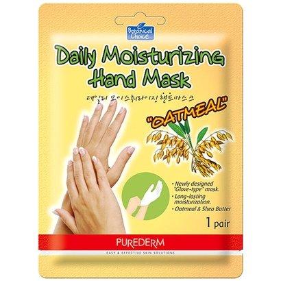 Máscara Hidratante para Mãos Purederm Aveia 1 Par