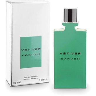 Perfume New Vétiver Masculino Carven EDT 100ml 7c76749724fc8