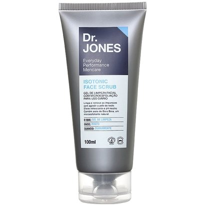 Dr. Jones Gel de Limpeza Isotonic Face Scrub 100ml
