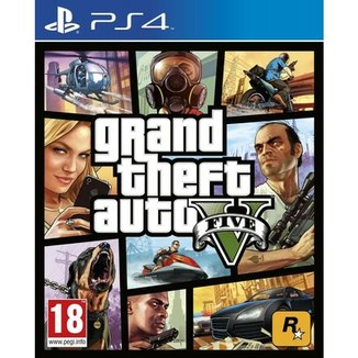 PS4 - GTA V Rockstar Games