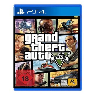 Jogo GTA V (GTA 5) Grand Theft Auto V PS4