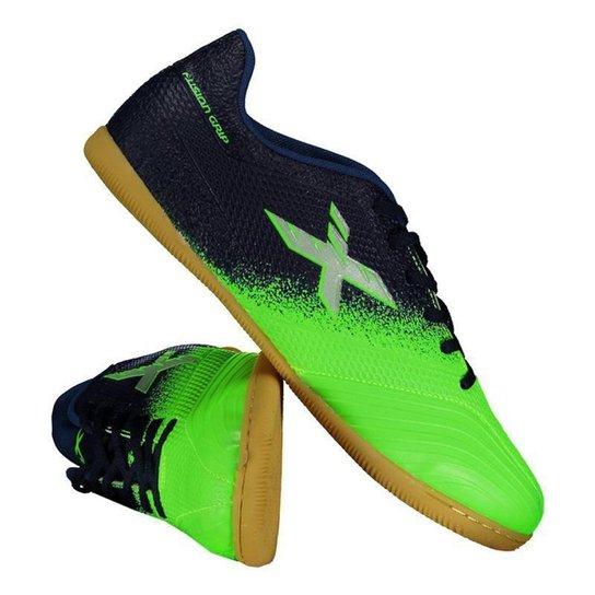 Chuteira Futsal Oxn Fusion Grip 2 Masculina - Verde - Compre Agora ... 5dd8631a248b7