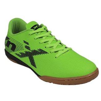 5ef49374125 Chuteira Futsal Infantil Oxn Velox