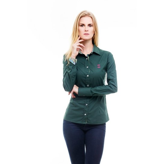 Camisa Social Hat Trick Coritiba - Verde - Compre Agora  1f76088ace2cf