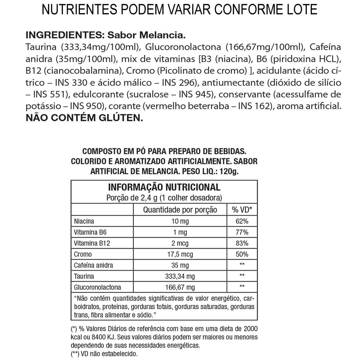 Lipo 6 Black Powder Ultra Concentrate 120g Exclusivo - Nutrex - 1