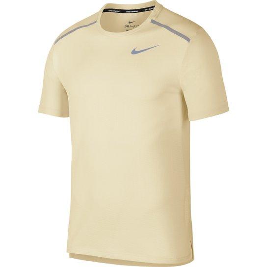fbb1d958877936 Camiseta Nike DRI-FIT Miler Jac Gx Masculina - Creme