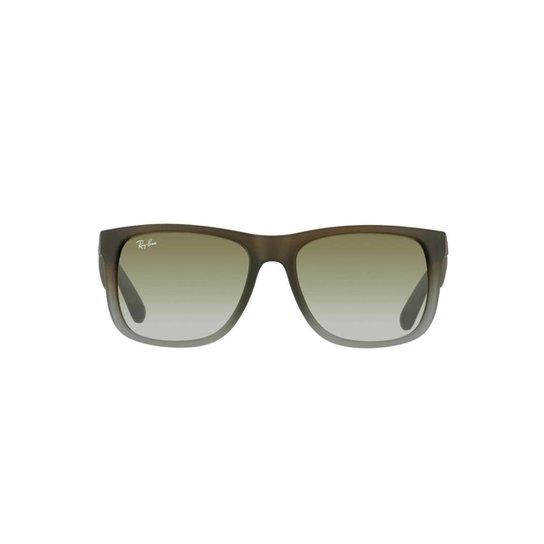 feeb1679fb45e Óculos de Sol Ray Ban Justin - Marrom e Cinza - Compre Agora