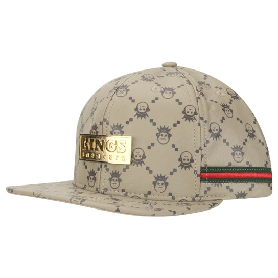 Boné Kings Edition Limited Gucci - Compre Agora   Netshoes 30ef9276b2