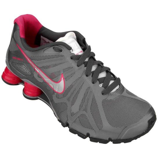 free shipping 4efda 0d218 Tênis Nike Shox Turbo+ 13 - Chumbo+Pink