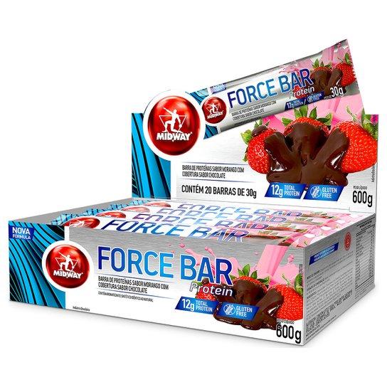 eaa699205 Barra de Proteína Force Bar - Midway 20 Unidades - Compre Agora ...