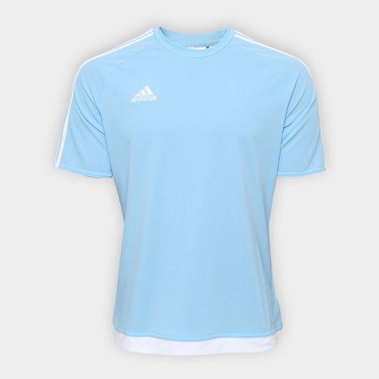 Camisa Adidas Estro 15 Masculina - Azul Claro - Compre Agora  466d304b6bc9b