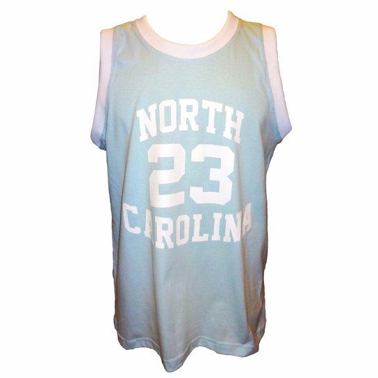 25f3904c0cec2 Camisa Liga Retrô North Carolina - Coleção Cidade Americanas - Azul Claro