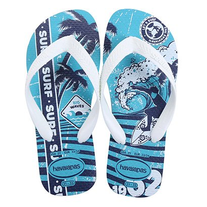 Chinelo Infantil Havaianas Kids Athletic Masculino
