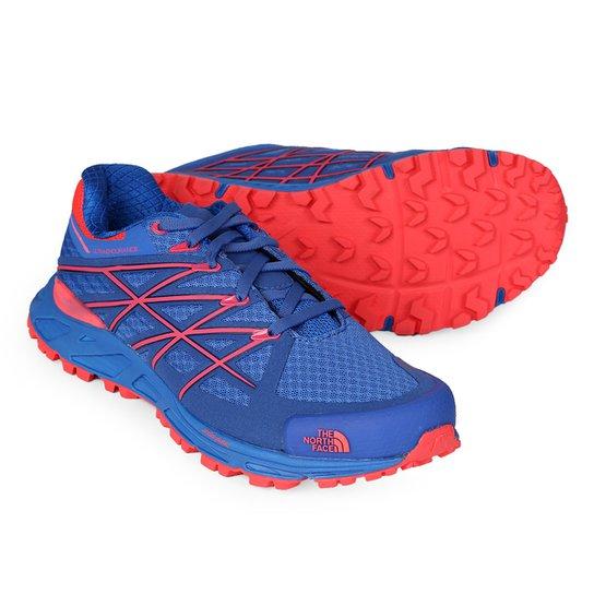 Tênis The North Face Ultra Endurance Feminino - Azul e Vermelho ... f431da926dd08