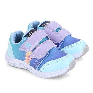 361716d458 Tênis Infantil Disney com Velcro Frozen Feminino