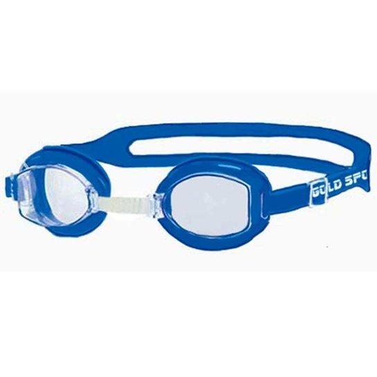 Óculos De Natação Gold Sports Junior Splash - Azul Claro - Compre ... 2a4205a6f7