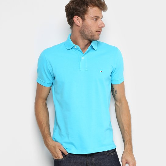 Camisa Polo Tommy H. Piquet Regular Fit Clássica Masculina - Compre ... 4e7f9fe31ee24