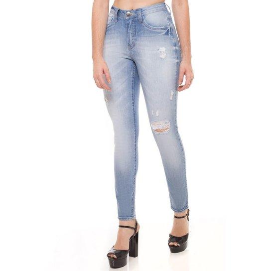1bebc404f Calça Jeans Cigarrete Mid Rise Skinny Eventual Feminina - Compre ...