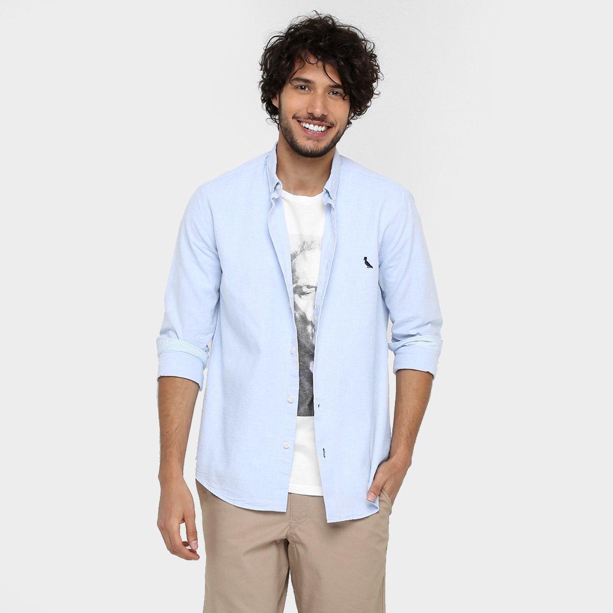 camisas Reserva ML regular bordado logo 3574