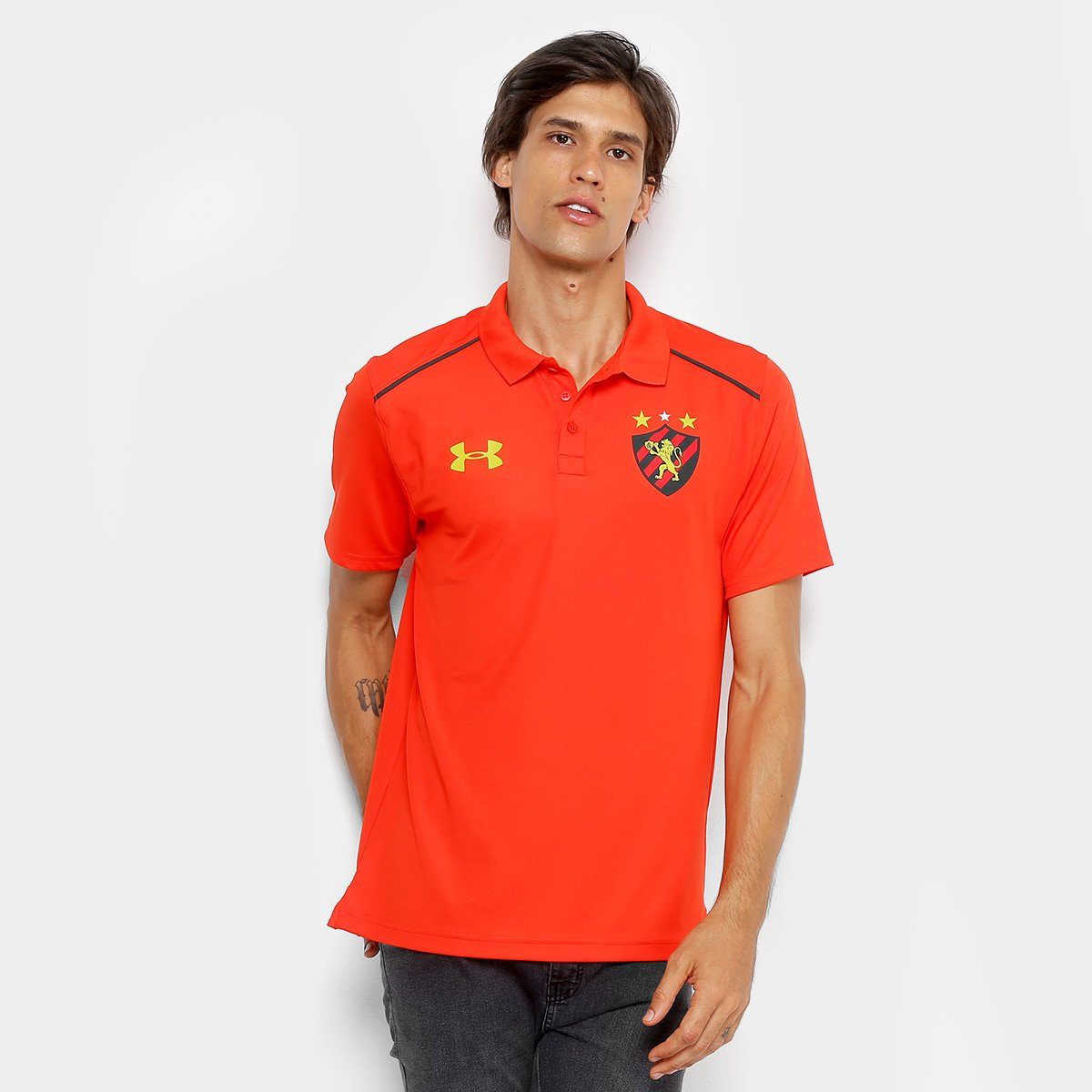 Camisa Polo Sport Recife 2018 Under Armour Masculina 2171288137f5d