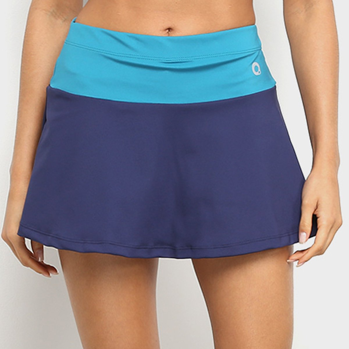 Foto 1 - Short Saia Área Sports Colorblock Feminino