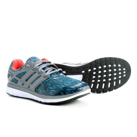 9e686a3a75 Tênis Adidas Energy Cloud Feminino - Azul Claro - Compre Agora ...