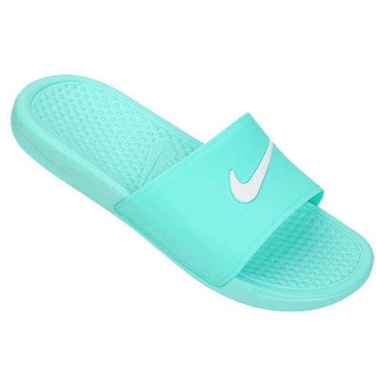 190a949cea7a8 Chinelo Nike Benassi Shower Slide - Azul Claro