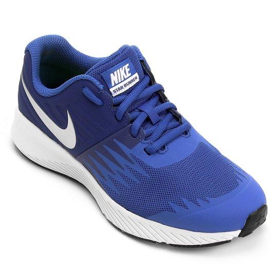 Tênis Infantil Nike Star Runner GS - Azul - Compre Agora  f4da1717113b8