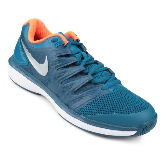 Tênis Nike Air Zoom Prestige HC Masculino - Verde água - Compre ... 12d1113327af3
