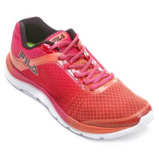 15e9042c34 Tênis Fila Softness Feminino - Salmão e Pink   Netshoes