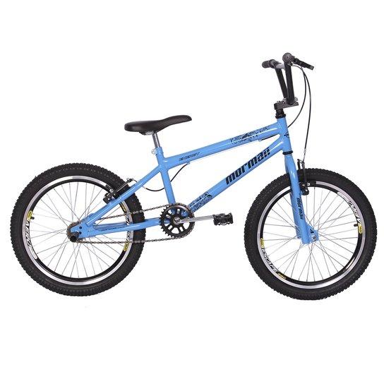 d4aff3a48ca64 Bicicleta Mormaii Aro 20 Cross Energy - Azul Claro
