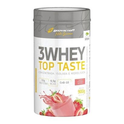3 Whey Top Taste 900G - Body Action