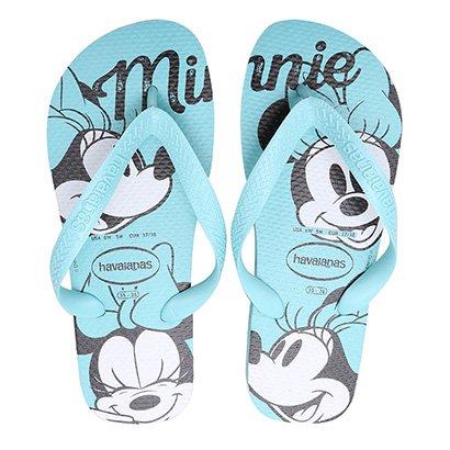 Sandália Havaianas Top Disney Minnie Feminina