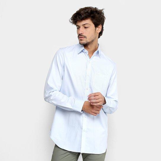 316d4e1ea4 Camisa Social Lacoste Manga Longa Masculina - Compre Agora