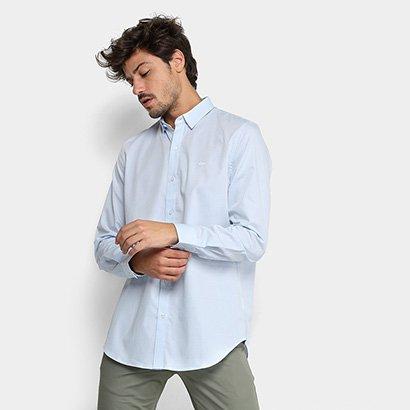 Camisa Lacoste Manga Longa Masculina