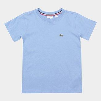 Camiseta Infantil Lacoste Logo Masculina ec1e9236e95