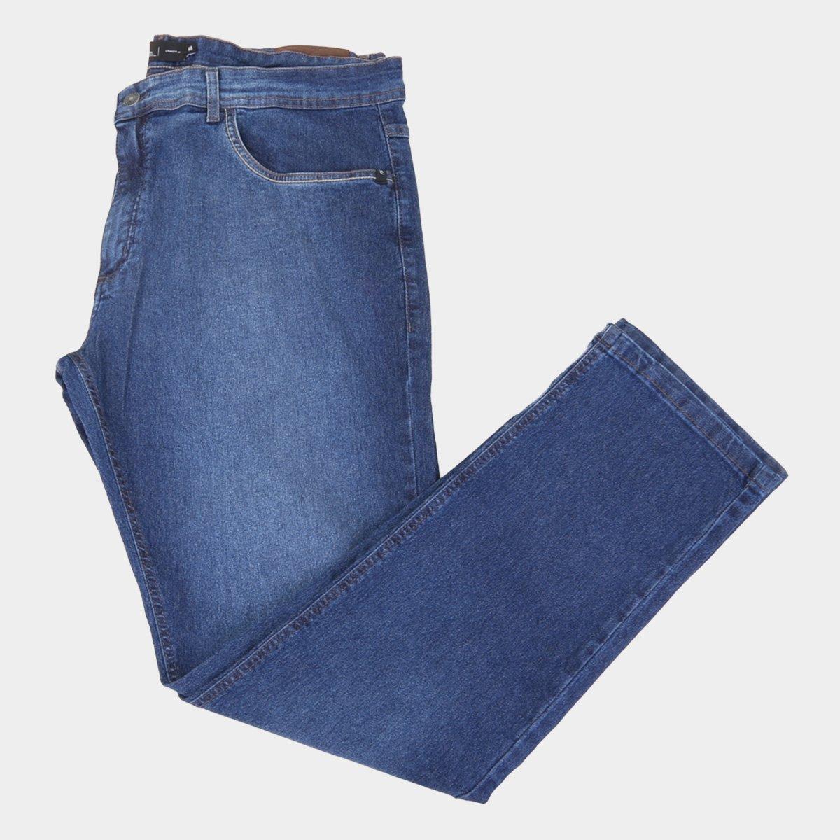 Calça Jeans Rip Curl Mid Blue Wave Plus Size Masculina