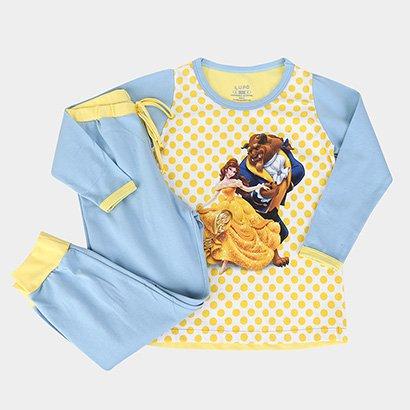 Pijama Infantil Lupo Disney KF Princess Feminino