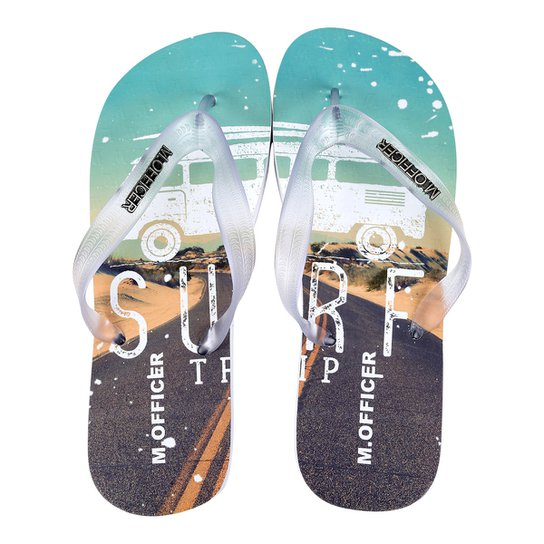 Chinelo M.Officer Surf Masculino - Compre Agora  520983c6dadd2