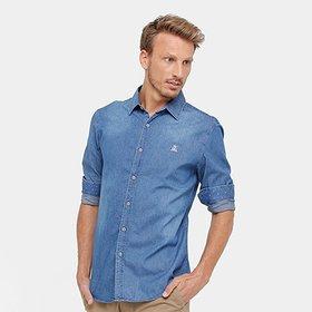 790efb863f Camisa Social Masculina - Super Slim - Compre Agora