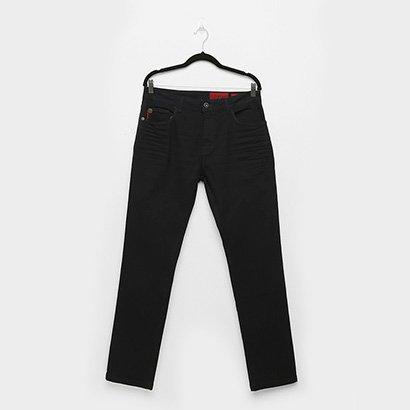 Calça Jeans Slim Ellus Deep Sea Elastic Pesp Trip Masculina